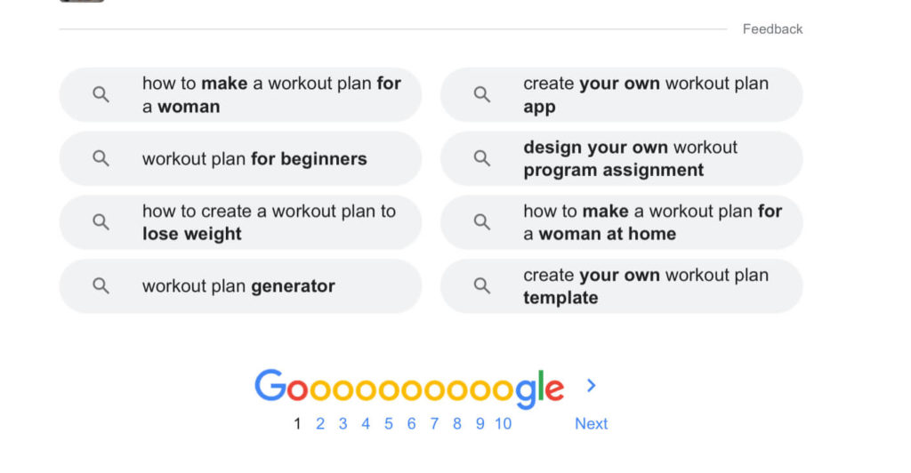 how to find blog post ideas from google