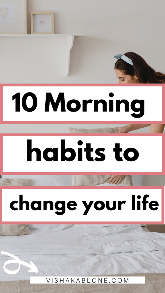 10 morning habits to change your life