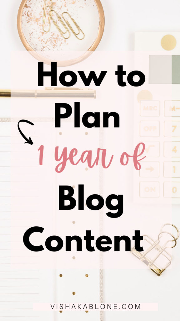 How to plan a blog content strategy